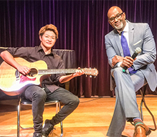 Claude McKnight from Take6 -Unplugged Live again- with 上條 頌 ag