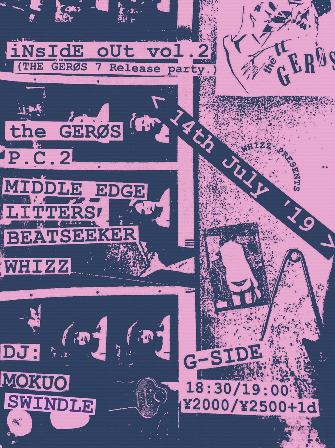 iNsIdE oUt vol.2 THE GERØS 7 Release party.