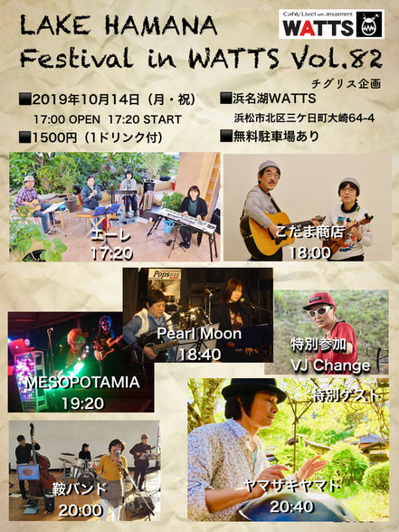 Lake Hamana Festival in WATTS Vol.82